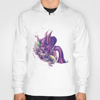 my little pony Hoodies featuring My Little Pony - Goodnight Luna by Poofette