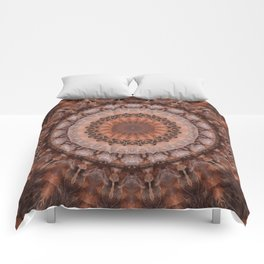 Mandala homely atmosphere Comforters