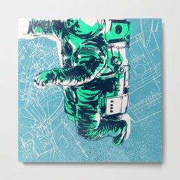 OrbitalFleets Crew Series: No.2 Metal Print