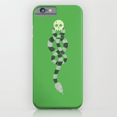 The Scarf Mark - Green and Black iPhone 6s Slim Case