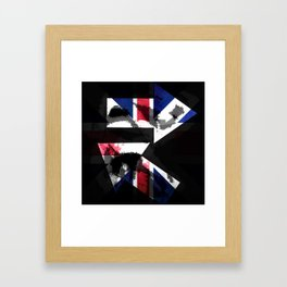 sING's: Plates for the Queen Framed Art Print