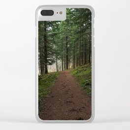 Take the fox's path - Scotland Clear iPhone Case
