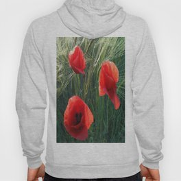Ballad Of The Three Red Poppies Hoody