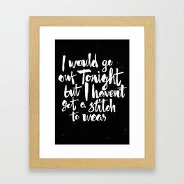 Charming Framed Art Print