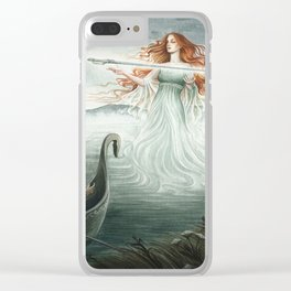 Lady of the Lake Clear iPhone Case