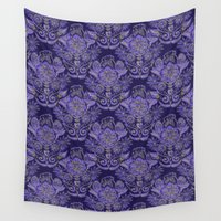 royal Wall Tapestries featuring Royal by Sand Salt Moon