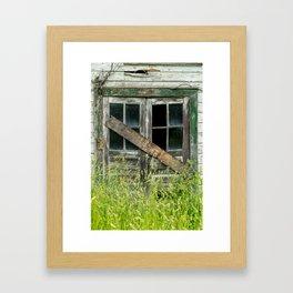 Shuttered Framed Art Print