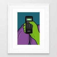 hulk Framed Art Prints featuring hulk by mark ashkenazi