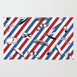 Barber Shop Pattern Rug