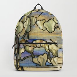 Louis Comfort Tiffany - Decorative stained glass 5. Backpack