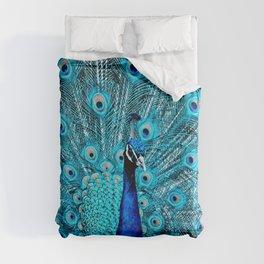Peacock  Blue 11 Duvet Cover