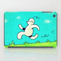 running iPad Cases featuring Running... by MaComiX