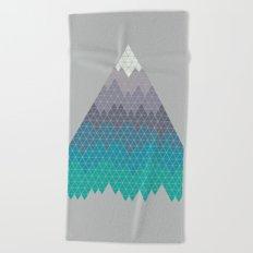 Many Mountains Beach Towel