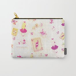 Whimsical Alice Carry-All Pouch