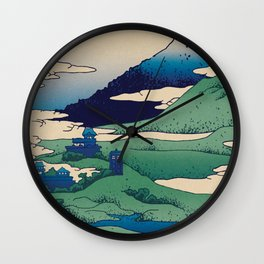 Doctor Who Mount Fuji - Mont Fuji - Tardis Wall Clock