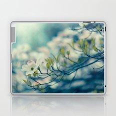 Dogwood Blossom Laptop & iPad Skin