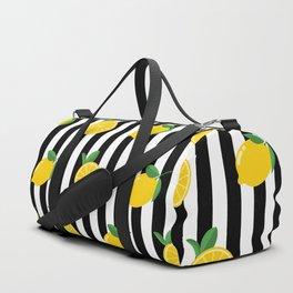 Lemon Pattern Duffle Bag
