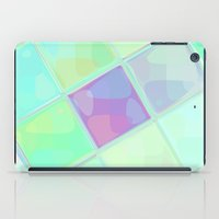 lv iPad Cases featuring Re-Created Mirrored SQ LV by Robert S. Lee by Robert S. Lee Art