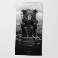 IV. The Emperor (Version II) Beach Towel