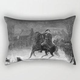 Washington At The Battle Of Trenton Rectangular Pillow