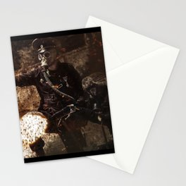Victory is achieved throught mettle...  Stationery Cards