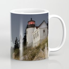 Bass Harbor Head Lighthouse Acadia National Park Coffee Mug