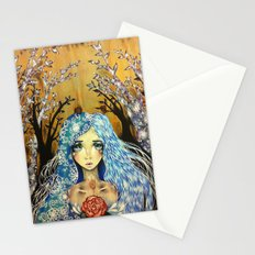Winter Angel Stationery Cards