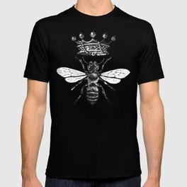 Queen Bee | Black and White T-shirt