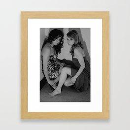 Fashion raw. Framed Art Print