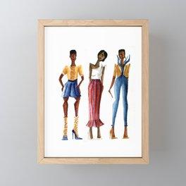 Corn cob Framed Mini Art Print