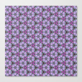 Riverside Fireweed patterned Canvas Print
