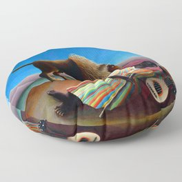 Henri Rousseau Sleeping Gypsy Floor Pillow