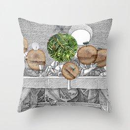 Duerer Last Communion Collage Throw Pillow
