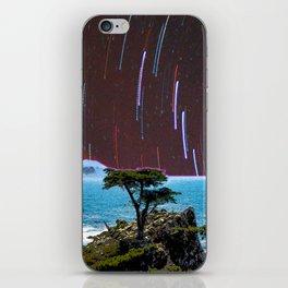 Lone Cypress Stars iPhone Skin