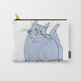 My cat Blue Carry-All Pouch