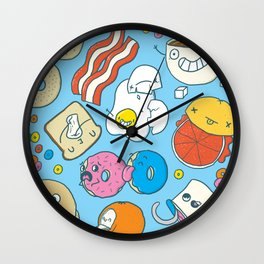 Most Important Meal of the Day Wall Clock