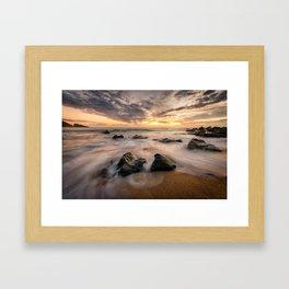 Kinnagoe Bay   Ireland  (RR80) Framed Art Print