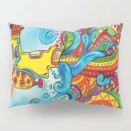 The Yellow Submarine Pillow Sham