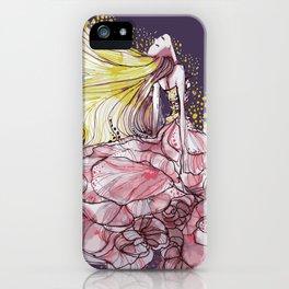Flowergirl iPhone Case