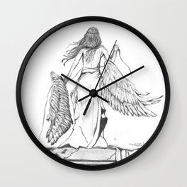 Too Heavy to Carry Wall Clock
