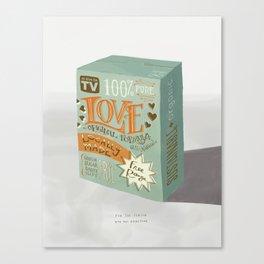 A Box of Love Canvas Print