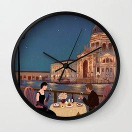 candlelight dinner Wall Clock