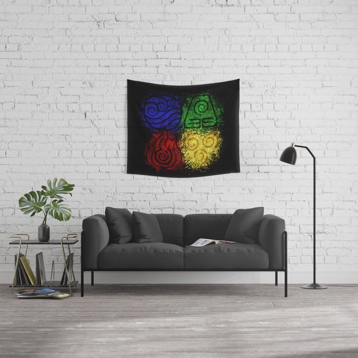 Four Elements Wall Tapestry