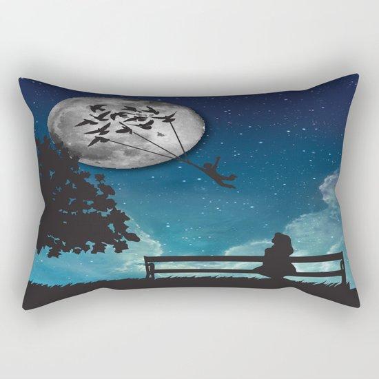 Dreaming Rectangular Pillow