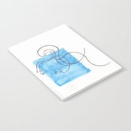 Blue Space Notebook
