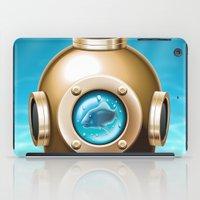 underwater iPad Cases featuring Underwater by Texnotropio