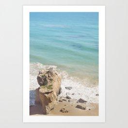 El Matador Beach, California Art Print