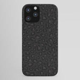 Leopard Print 2.0 - Black Panther iPhone Case