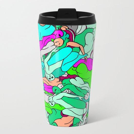 Sleepy Heads - Emerald Green Metal Travel Mug