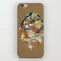 guinea pig iPhone & iPod Skins featuring Guinea pig I by Nuance